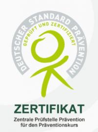 Zertifikat Präventionskurse