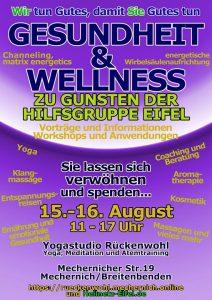 Gesundheits- und Wellnesstage zugunsten der Hilfsgruppe Eifel @ Rückenwohl